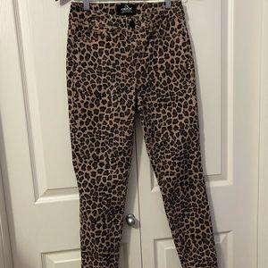 Jordache cheetah print pants